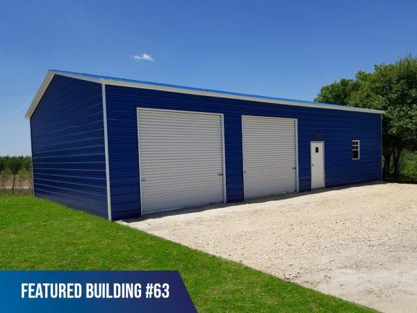 22 x 50 x 12 Metal Building