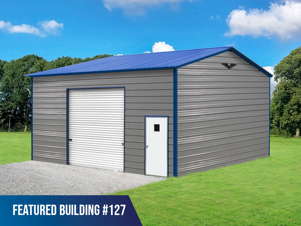 24x25x12 Metal Building