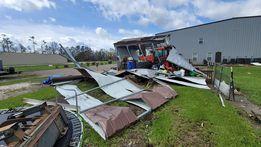 Louisiana hurricane metal building