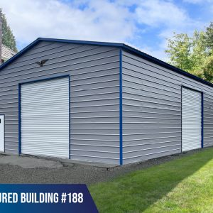30x50x14 Metal Garage